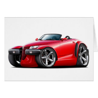 Prowler Red Car Card