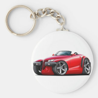 Prowler Red Car Keychain