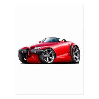 Prowler Red Car Postcard