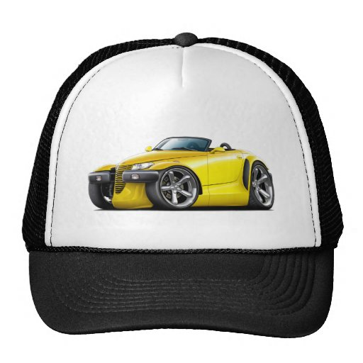Prowler Yellow Car Trucker Hat