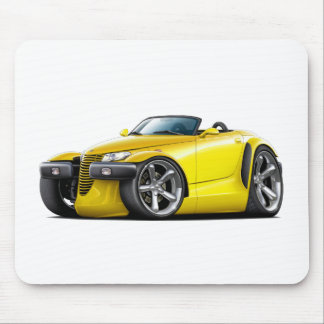 Prowler Yellow Car Mouse Pad