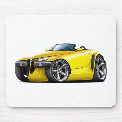 Prowler Yellow Car Mousepads