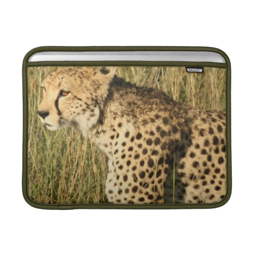 "Prowling Cheetah 13"" MacBook Sleeve"