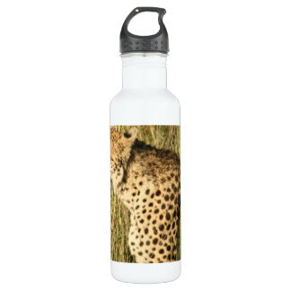Prowling Cheetah 24oz Water Bottle