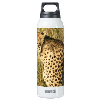 Prowling Cheetah 16 Oz Insulated SIGG Thermos Water Bottle