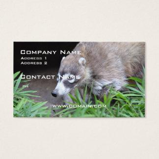 Prowling Coati Business Card