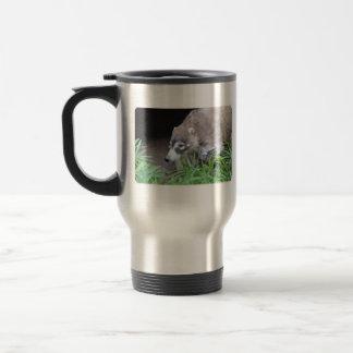 Prowling Coati Travel Mug
