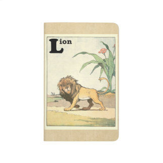 Prowling Lion Story Book Journal