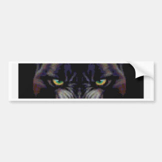 PROWLING PANTHER BUMPER STICKERS