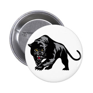 Prowling Panther Pinback Button