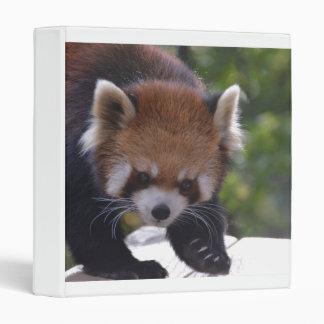 Prowling Red Panda Binder