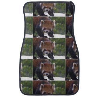 Prowling Red Panda Car Mat