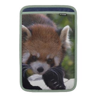 Prowling Red Panda MacBook Air Sleeves