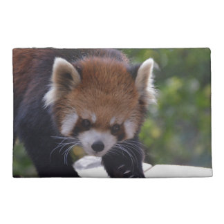 Prowling Red Panda Travel Accessories Bags