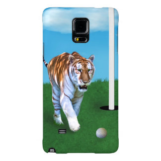 Prowling Tiger and Golf Ball Customizable Galaxy Note 4 Case