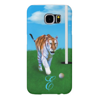 Prowling Tiger and Golf Ball Customizable Samsung Galaxy S6 Case