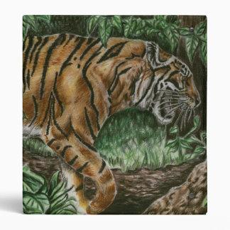 Prowling Tiger Binder