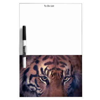 Prowling Tiger Dry-Erase Board