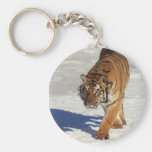 Prowling Tiger Key Chain
