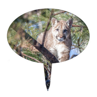 Prowling Wild Cat Cake Topper