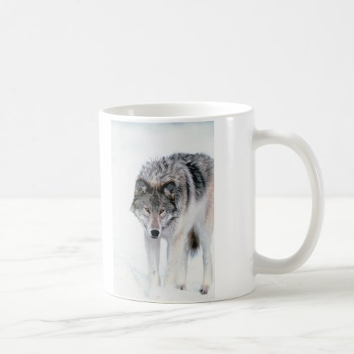 Prowling Wolf Mugs