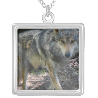 Prowling Wolf  Necklace