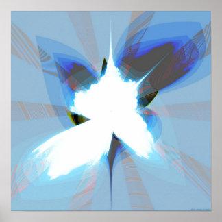 Proyección 1.2c2 del fractal impresiones