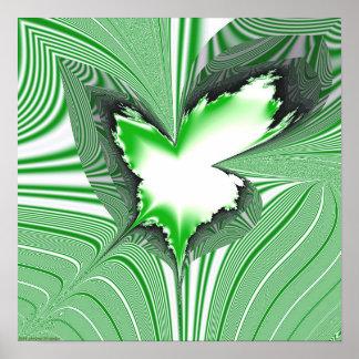 Proyección 1.4g2 del fractal impresiones