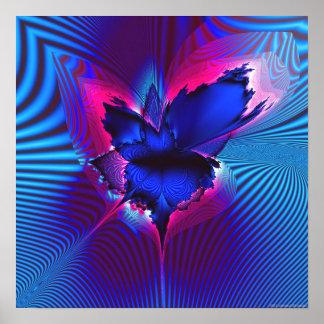 Proyección 1.4j del fractal impresiones