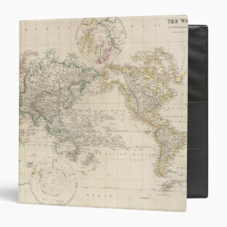 """Proyección de Mercators del mundo Carpeta 1 1/2"""""""