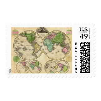 Proyección globular del mundo