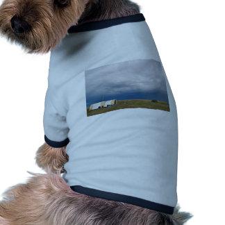 Proyecto 2006 del muestreo de la gripe aviar camisa de mascota