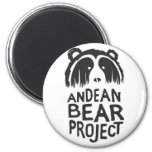 Proyecto andino del oso imán de nevera