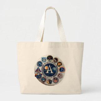 Proyecto Apolo: El logotipo compuesto Bolsas De Mano