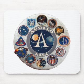 Proyecto Apolo: El logotipo compuesto Mousepads