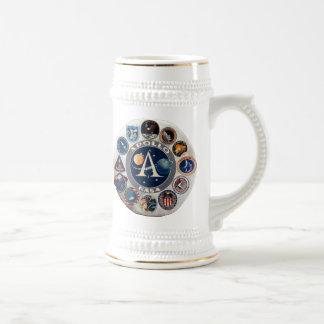 Proyecto Apolo El logotipo compuesto Taza De Café