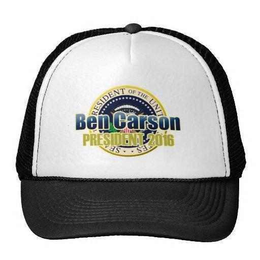 Proyecto Benjamin Carson para el presidente Gorras