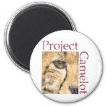 Proyecto Camelot (mirada resistida) Imanes Para Frigoríficos