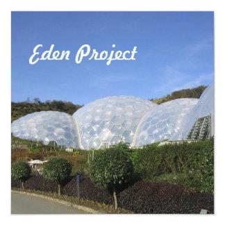 Proyecto de Eden Invitación 13,3 Cm X 13,3cm