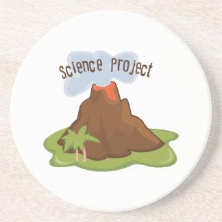 Proyecto de la ciencia posavaso para bebida