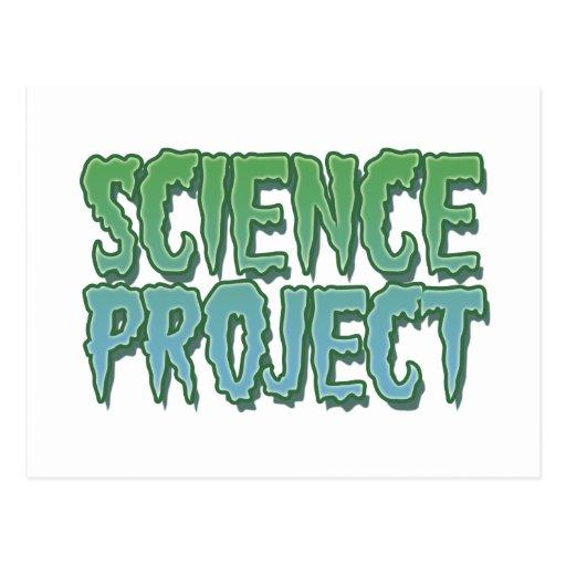 Proyecto de la ciencia postal