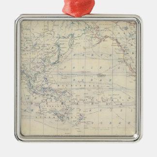 Proyecto de Mercators del mundo Adornos De Navidad