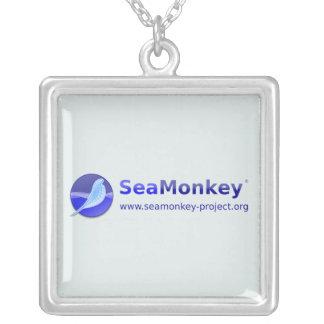 Proyecto de SeaMonkey - logotipo horizontal Collares