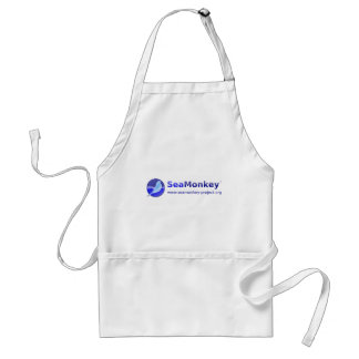 Proyecto de SeaMonkey - logotipo horizontal Delantal