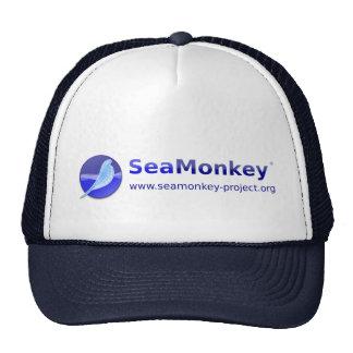 Proyecto de SeaMonkey - logotipo horizontal Gorro