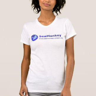 Proyecto de SeaMonkey - logotipo horizontal Camiseta