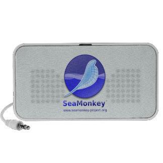 Proyecto de SeaMonkey - logotipo vertical Altavoz De Viajar
