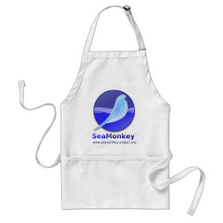 Proyecto de SeaMonkey - logotipo vertical Delantal