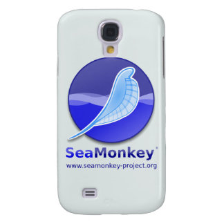 Proyecto de SeaMonkey - logotipo vertical Funda Para Galaxy S4