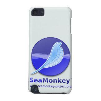 Proyecto de SeaMonkey - logotipo vertical Funda Para iPod Touch 5G